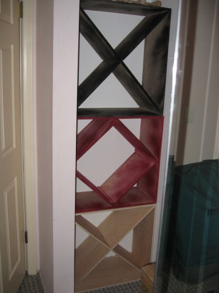 make your own wine rack